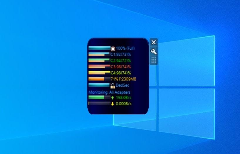 Laptop Stats - widget for Windows