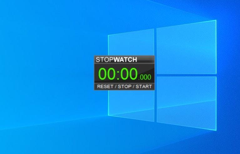 Stopwatch - widget for Windows