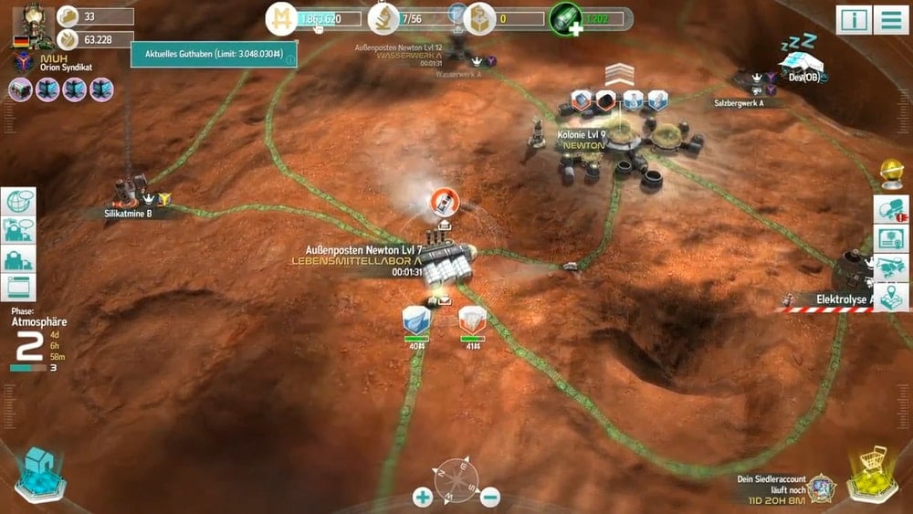 mars tomorrow _ online browser game