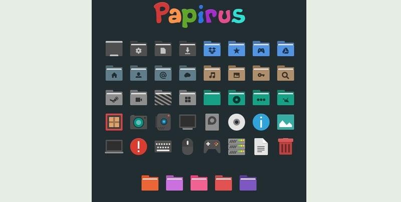 papirus - windows icons pack