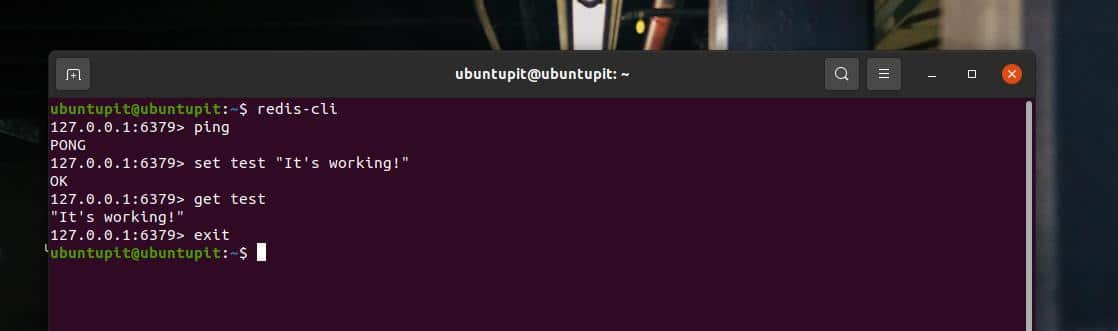 test emote dictionary server CLI on Ubuntu