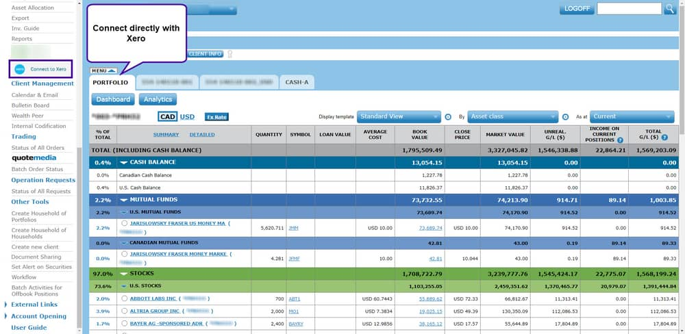Artiffex investment accounting software