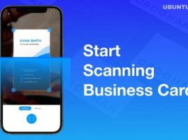 Best Apps to Scan business Cards