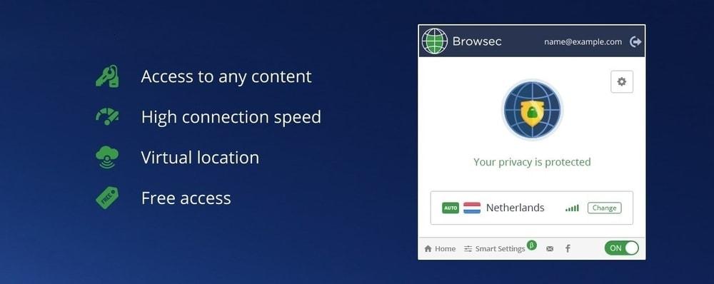 Browsec VPN - Free VPN for Chrome