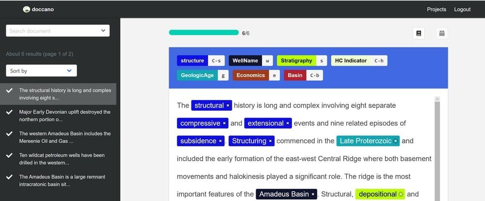 Doccano Annotation tool for Windows