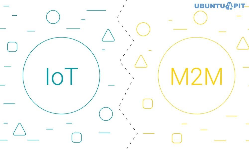 Major IoT vs M2M Concepts