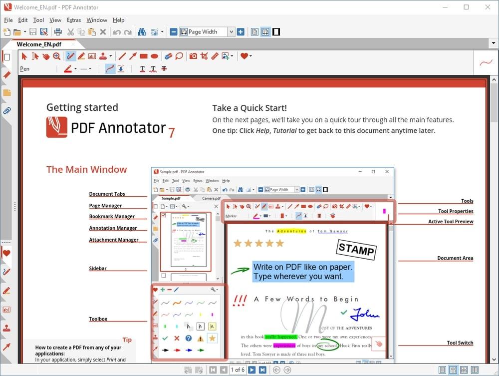 PDF Annotator Annotation tool for Windows