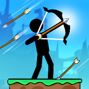 The Archers 2: Stickman Games for 2 Players or 1