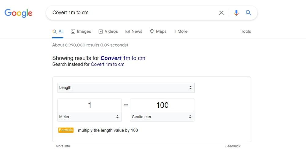 Convert Measurement Unit