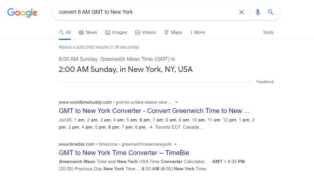 Convert Time Zones