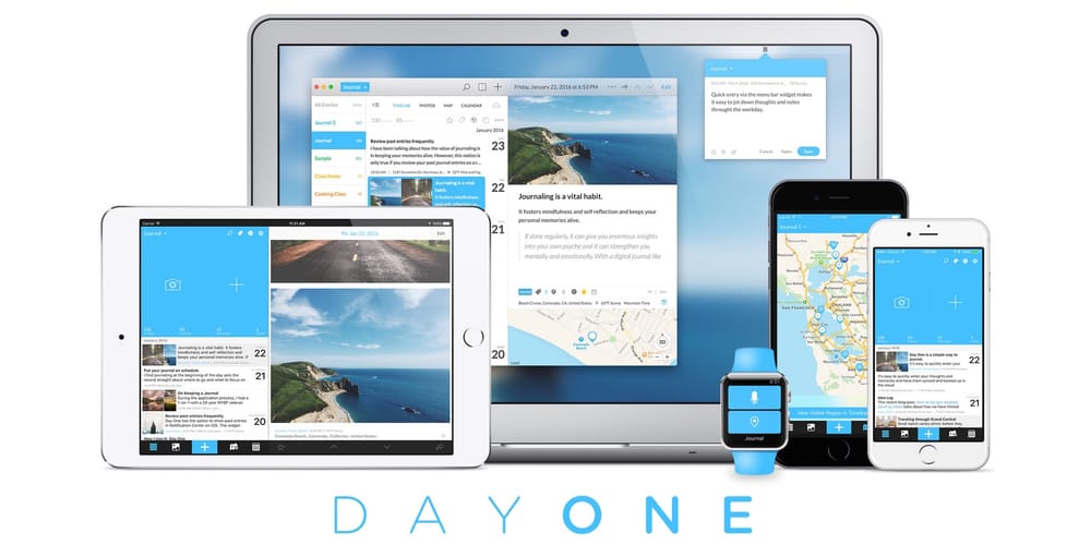 Day One Journal, writing apps for iPad