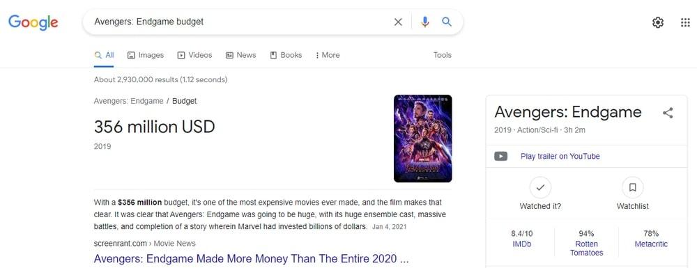 Get Movie Information