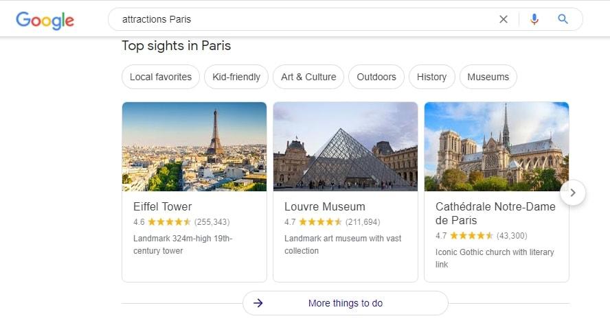 Get Traveling Information