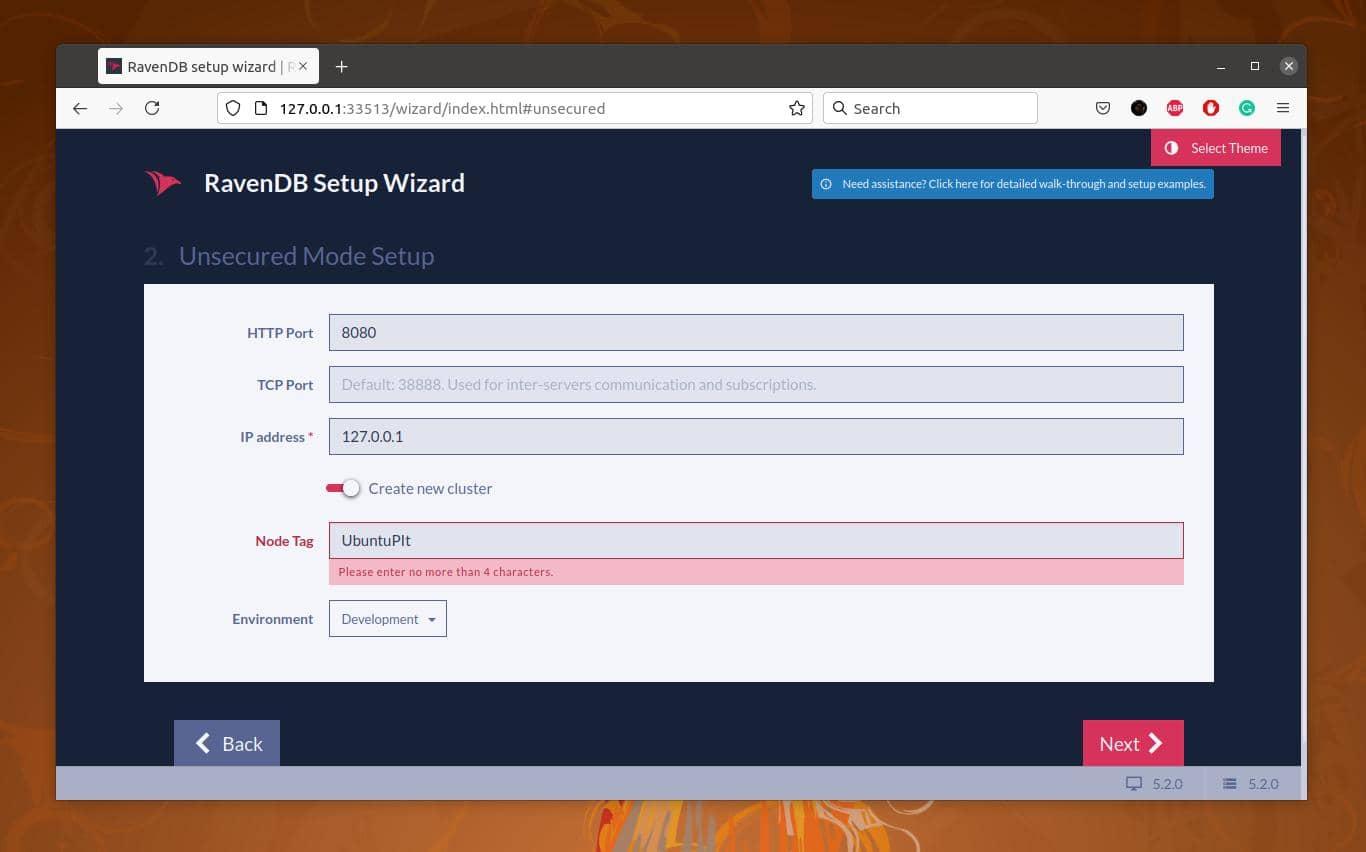 new cluster setup on ubuntu