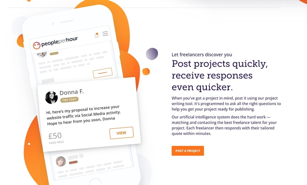 peopleperhour _ best freelance website