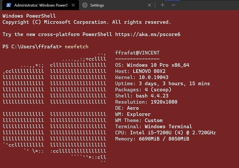 red_alert - Windows Terminal themes