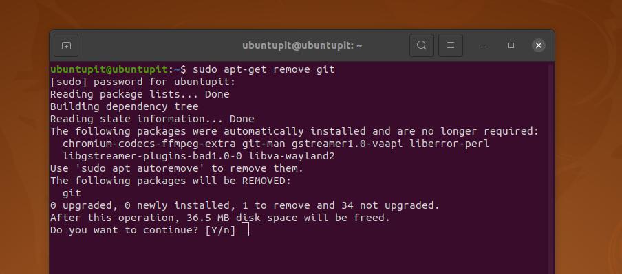 remove Global Information Tracker from ubuntu