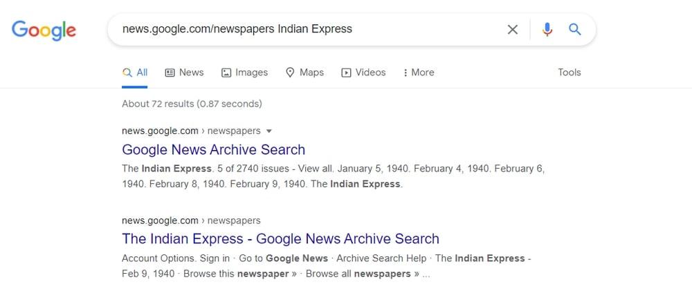 Search Newspaper Achieve
