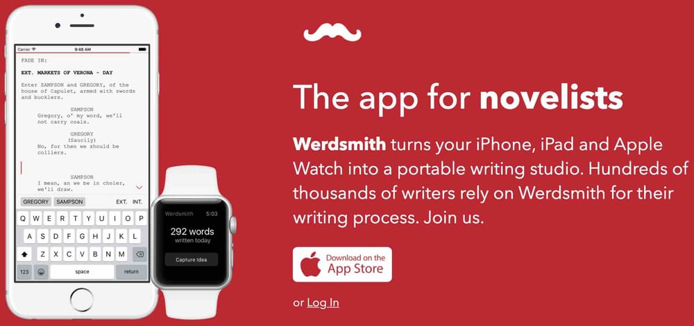 Werdsmith, writing apps for iPad