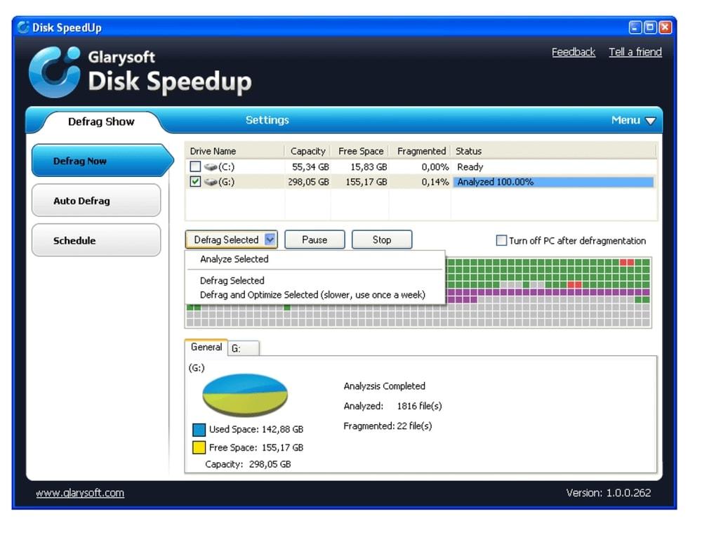 Disk Speedup Best Defrag Software
