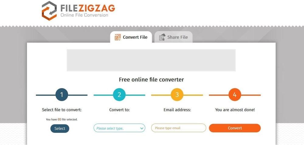 Filezigzag Free Online Video Converter