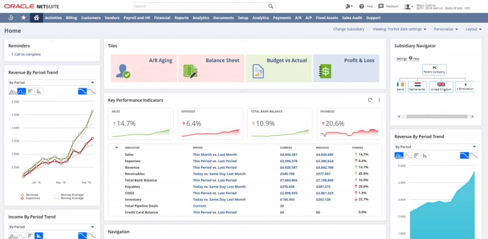 Oracle NetSuite Invoice Automation Software