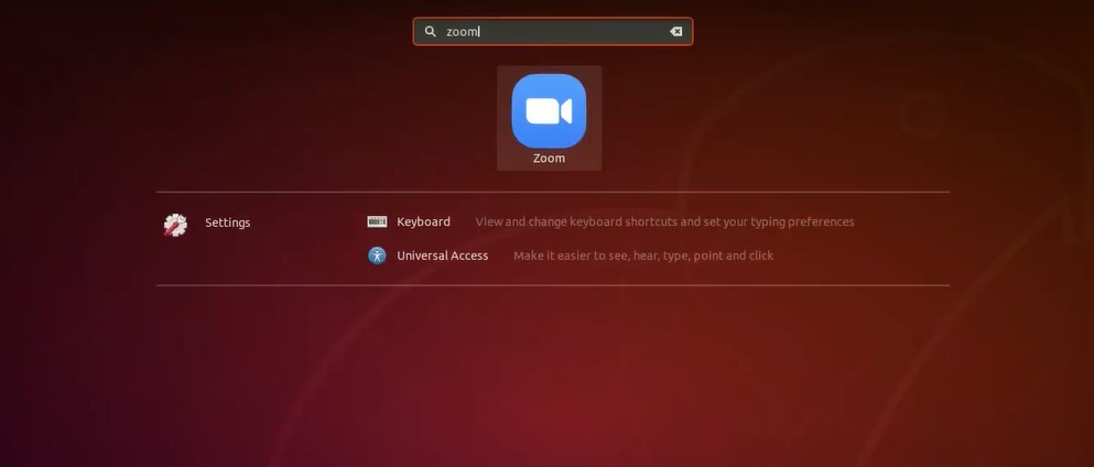 Zoom Video Conference Software in Linux