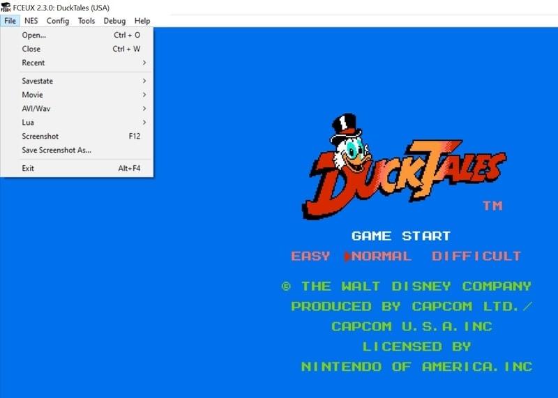 fceux - NES emulator for PC