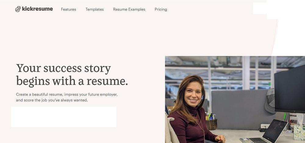 kickresume _ Free online resume builder