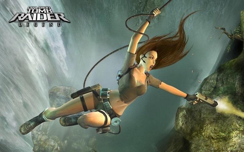 lara_croft_tomb_raider_legends - PPSSPP games for PC