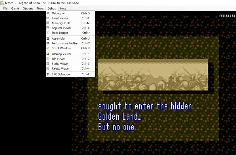 mesen_s NES emulator for PC