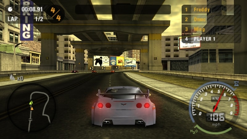 need_for_speed_most_wanted - PPSSPP games for PC