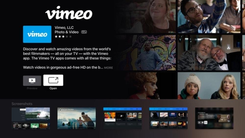 Vimeo Video hosting site