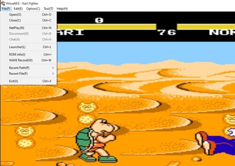 virtuanes - NES emulator for PC