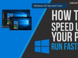 Easy Way to Speed Up Windows PC