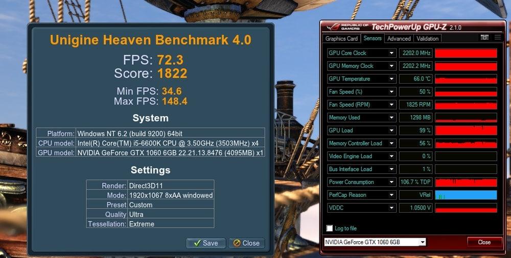 Heaven UNIGINE GPU Benchmark Software