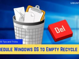 How to Schedule Windows OS to Empty Recycle Bin Automatically