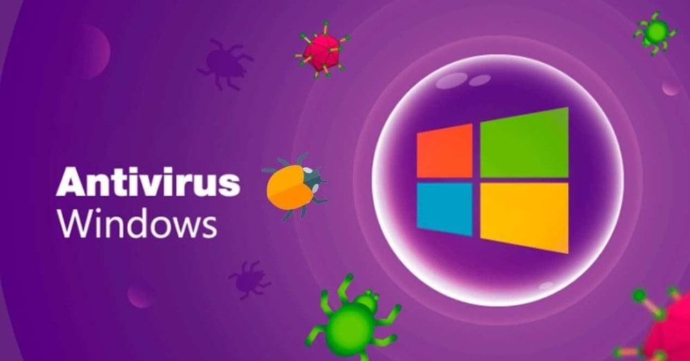 Install antivirus to speed up Windows 10