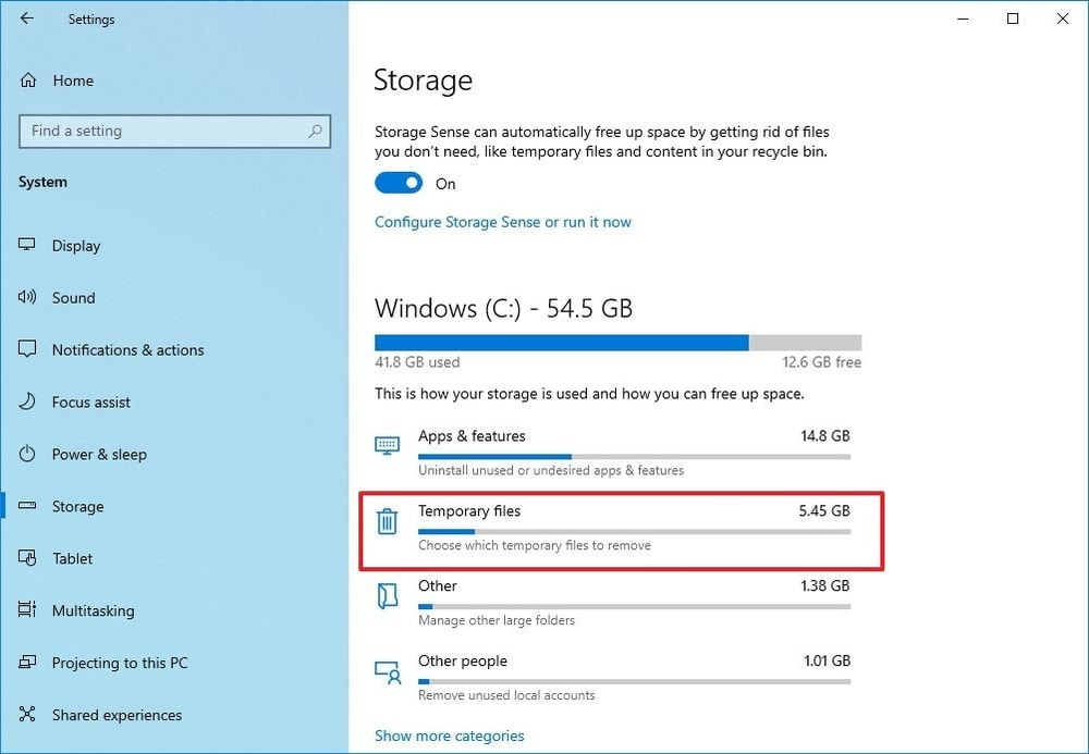 clean hard drive to speed up Windows 10