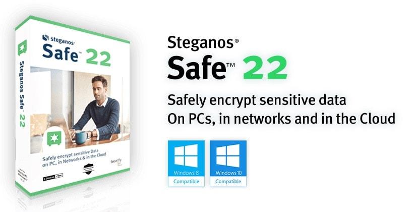 Steganos safe 22 encryption software for Windows