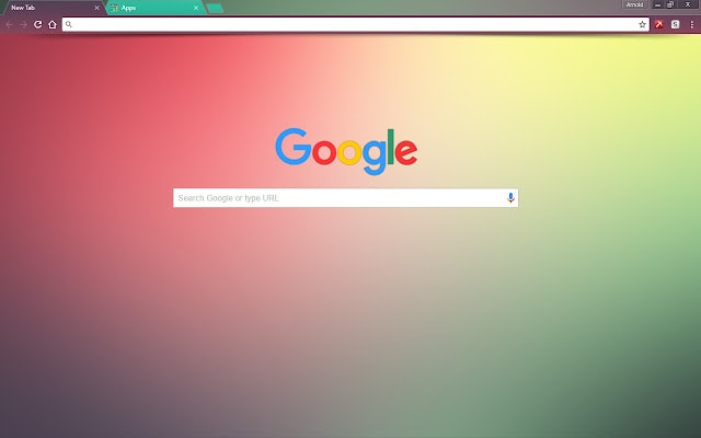Color Fusion Google Chrome Themes