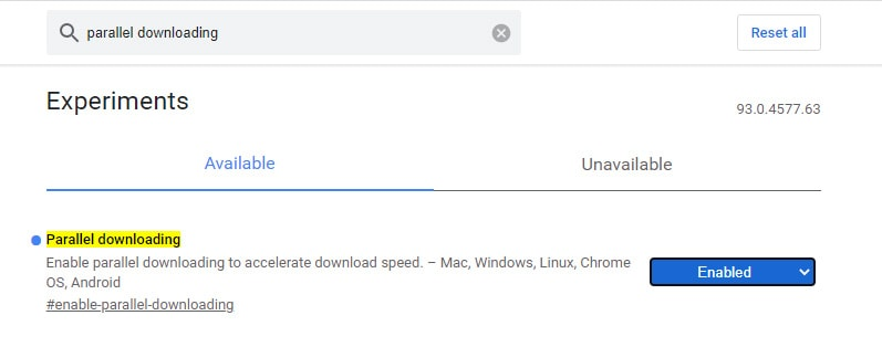 Faster Download Speed
