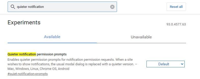 Quit Notification