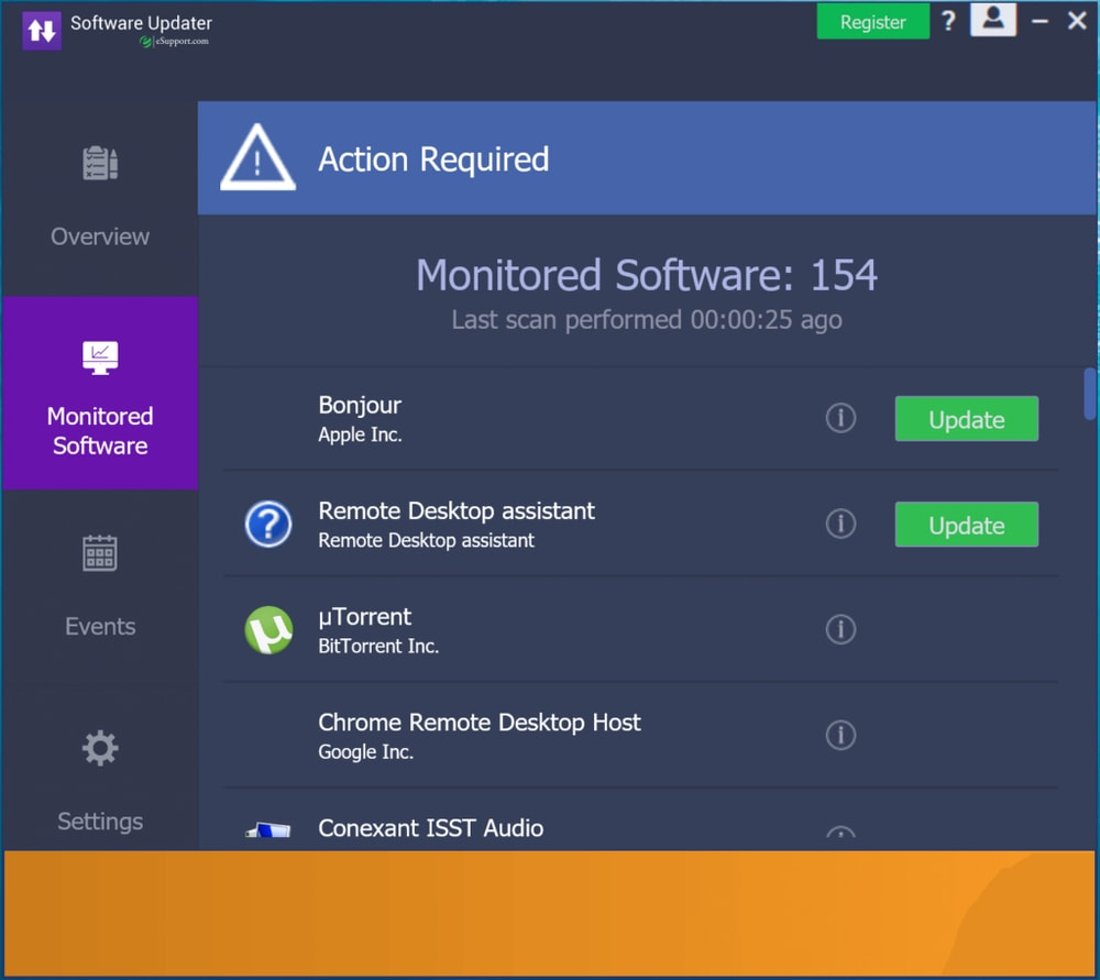 Software Updater for Windows