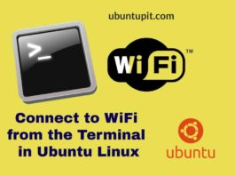WiFi from the Terminal