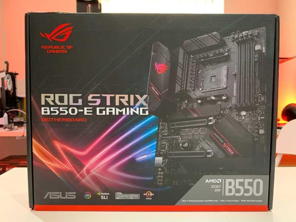 Asus ROG Strix B550-E Gaming, best AMD motherboards