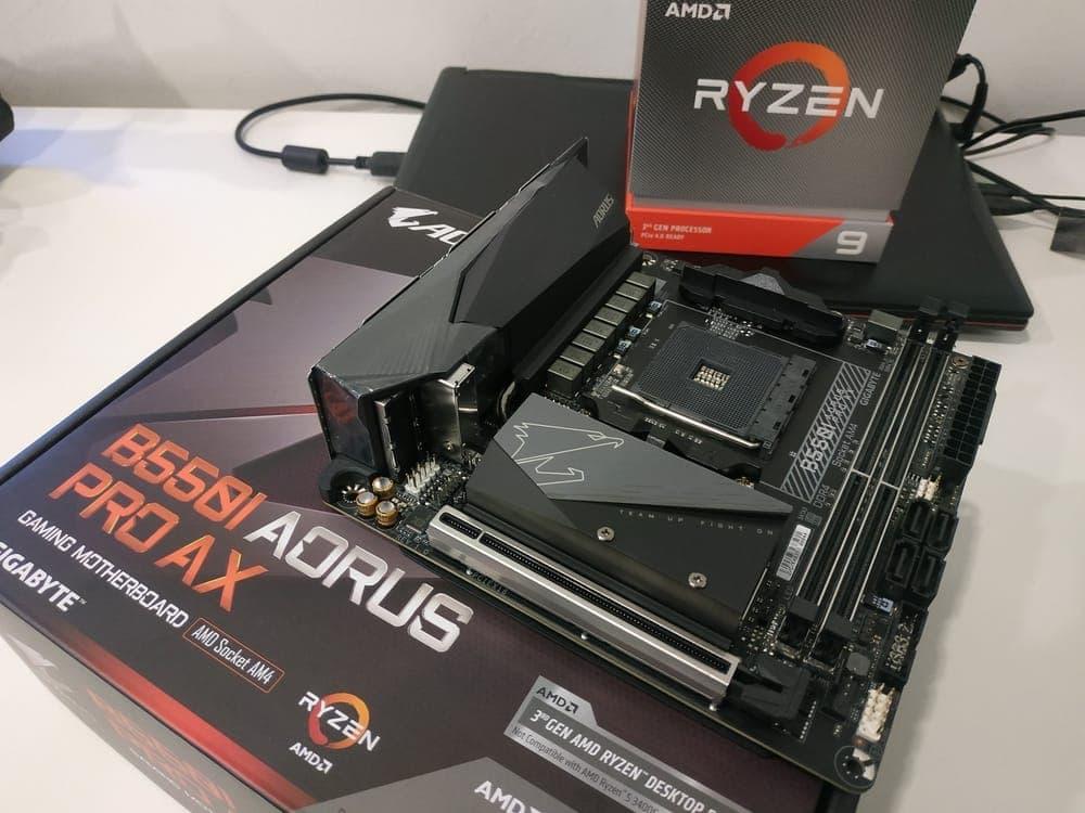 GIGABYTE B550I Aorus Pro AX, best AMD motherboards