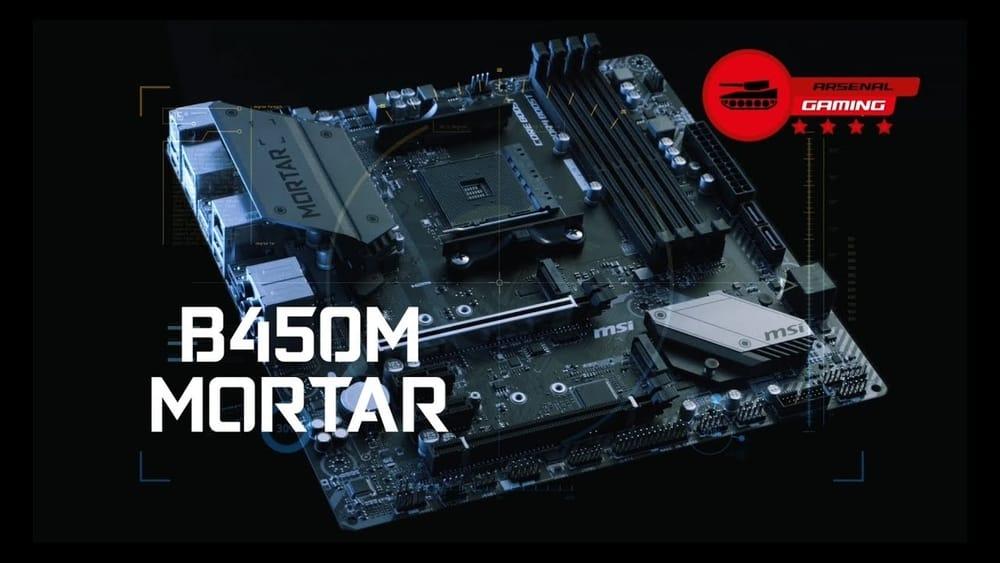 MSI B450M Mortar MAX, best AMD motherboards