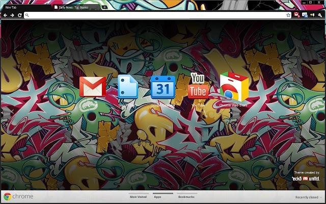 Marc Ecko - Google Chrome Theme